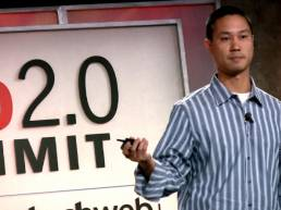 Tony Hsieh of Zappos - they do great corporate communications