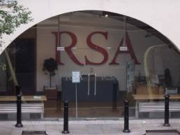 Entrance to the RSA from The Strand