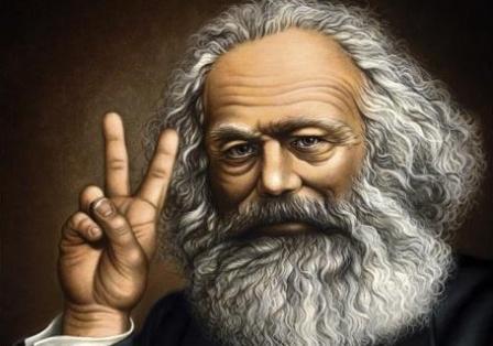 Karl Marx as a hippy