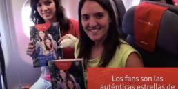 Iberia Airlines Social Flight campaign