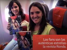 Iberia Airlines Social Flight campaign