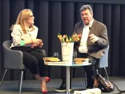 Helen Brocklebank in conversation with David Aaronovitch