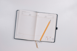 Diary and pencil by JESHOOTS
