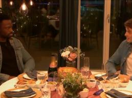 Dan meets Kate in The Circle - screenshot from All 4