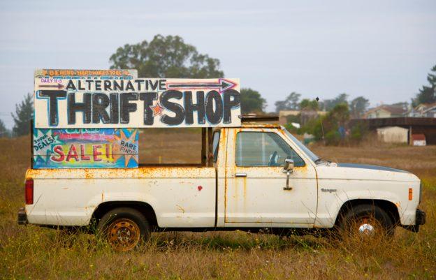 Thrift shop truck